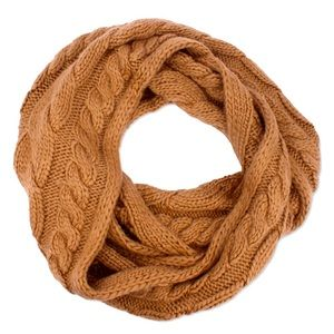 🆕 MICHAEL KORS Super Cable Infinity Scarf